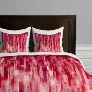 DENY Designs Deny Design Jacqueline Maldonado Funda de edredón, Queen, Red Rain, Queen, 1