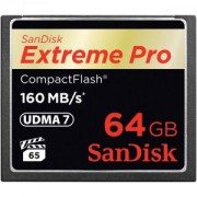 Extreme Pro CF 64GB 160Mb/s