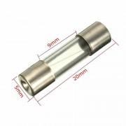 Siguranta rapida de sticla 5 x 20 mm 0,6A / 0,8A / 1A / 1,6A/ 2A / 2,5 / 3A / 3,15A / 4A / 5A / 6A / 6,3A / 7A / 8A / 10A / 15A / 20A