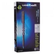 Onyx Roller Ball Stick Dye-Based Pen, Blue Ink, Fine, Dozen