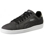 Puma Unisex's Puma Smash Denim Puma Black Formal Shoes - 10 UK/India (44.5 EU) (36169102)