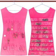 Organizator bijuterii pentru dulap Roz