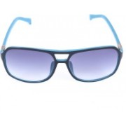 Calvin Klein Jeans Retro Square Sunglasses(Blue)