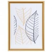 Fotolijst Easy Frame - goudkleur - 13x18 cm - Leen Bakker