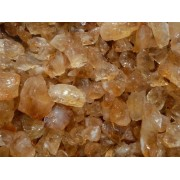 Fantasia Materials: 2 lbs Citrine Mine Run Rough from Brazil - Raw Natural Crystals for Cabbing, Cutting, Lapidary, Tumbling, Polishing, Wire Wrapping, Wicca and Reiki Crystal HealingWholesale Lot