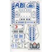 """Lego Original Sticker Sheet for Exo-Force Set #7700 """"Stealth Hunter"""""""
