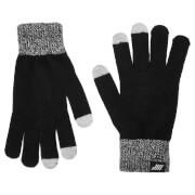 Gebreide handschoenen (zwart) - L-XL - Zwart