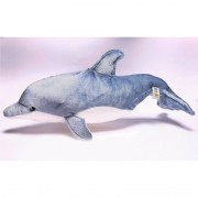 Bauer Speelgoed knuffel dolfijn 50 cm