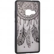 Husa Protectie Spate Star TOPLACE_G935 Lace Design 3 Negru pentru Samsung Galaxy S7 Edge