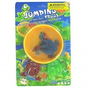 24 Packs Of Leap Frog Jumping Game W/ 6 Frogs