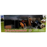 My Very Own Equestrian Set With English Style Female And Children Riders