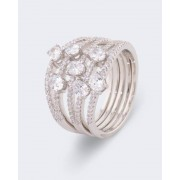 Judith Williams Ring mit Zirkonia female 19