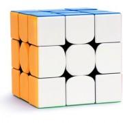 kiddie corner Magic Speed Rubik Cube 3x3x3 Sticker Less Water Proof