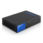 Linksys LGS105 No gestito Gigabit Ethernet (10/100/1000) Nero