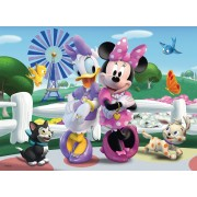 Puzzle Ravensburger - Minnie Si Daisy, 100 piese (10881)