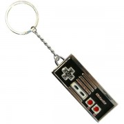 Nintendo - Metal And Enamel Logo Keychain
