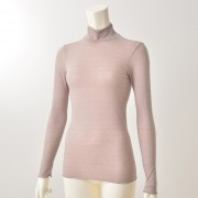 B.V.D. ヒートエディットハイネックシャツ【QVC】40代・50代レディースファッション