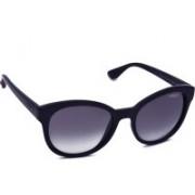 Vogue Cat-eye Sunglasses(Black)