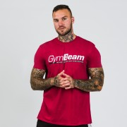 GymBeam Majica Body and Mind Cardinal Red XL