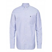 Selected Homme Collect Shirt Ls R Noos H Skjorta Business Blå Selected Homme