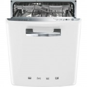 Smeg DI6FABWH Built In Fully Integrated Dishwasher - White
