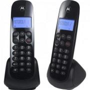 Telefone S/ Fio Digital MRD2 MOTO700 Preto Motorola