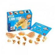 3D пъзел Goki, Риба лъв, 871509