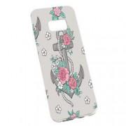Husa de protectie Rose Anchor Samsung Galaxy S8 rez. la uzura Silicon 224