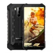 Ulefone Armor X5 (2019), 4G IP68 Impermeable Smartphone, Moviles Resistentes con Modo Submarino, Android 9.0 5.5-Pulgadas, Dual SIM, 3GB 32GB, 5000mAh Batería, Desbloqueo Facial GPS, Negro