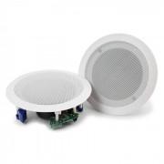 """Power Dynamics CSBT60 Set d'enceintes de plafond ampli 5,25"""" Bluetooth - blanc"""