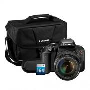 Canon EOS Rebel T7i DSLR 18-135mm + Should bag 200ES + SD 16GB