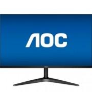 """Монитор AOC 24B1H, 23.6""""(59.94 cm), MVA WLED панел, Full HD, 8 ms, 50000000:1, 250 cd/m², HDMI, VGA"""