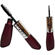 ADS 2 IN 1 WATERPROOF EYELINER MASCARA Free Liner Rubber Band -POUP