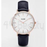 Дамски часовник CLUSE CL18029 La Bohème White/Midnight Blue