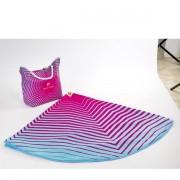 Set de plaja Pierre Cardin 180 cm Rotund Stripes