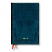 Paperblanks Modrý diář na rok 2020 v tvrdé vazbě Paperblanks Calypso, 368 stran