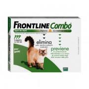 > Frontline Combo Spoton Gatti 3 Pipette Da 0,5 ml
