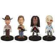Set Figurine The Walking Dead Mini Wacky Wobbler