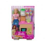 Set se joaca Papusa Barbie, Paste de casa Ghk43