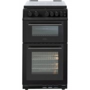 Belling FS50GTCL Black Gas Cooker Separate Grill