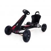 Kart cu pedale Ferbedo Air Racer Negru