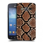 Husa Samsung Galaxy Core 4G LTE G386F Silicon Gel Tpu Model Animal Print Snake