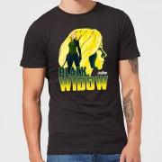 Avengers Black Widow Men's T-Shirt - Black - XL - Black