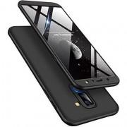Husa telefon hurtel 360 Capac de protectie pentru intreaga carcasa fata + spate Samsung Galaxy A6 Plus A605 negru 2018