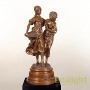 Figurina / Statueta decorativa design artistic de LUX din bronz C. M. Clodion SV-14430