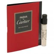 Cartier Pasha De Cartier Noire Vial (Sample) 0.05 oz / 1.48 mL Men's Fragrances 537063