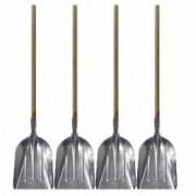 Pachet 4 bucati Lopata din aluminiu Cu coada lunga Pentru zapada si cereale