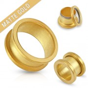 22 mm screw fit tunnel mat gold plated
