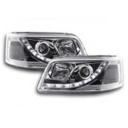 FK-Automotive fari Daylight a LED con DRL VW Bus T5 anno di costr. 03-09 cromati