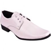 Bb Laa White Men's Formal Shoes